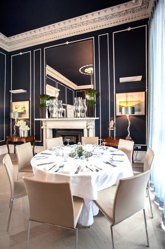 private dining Dublin, private dining venue, 25 Fitzwilliam Place, private dining menu