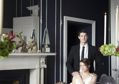 No. 25 Fitzwilliam Place | Couple by Fire
