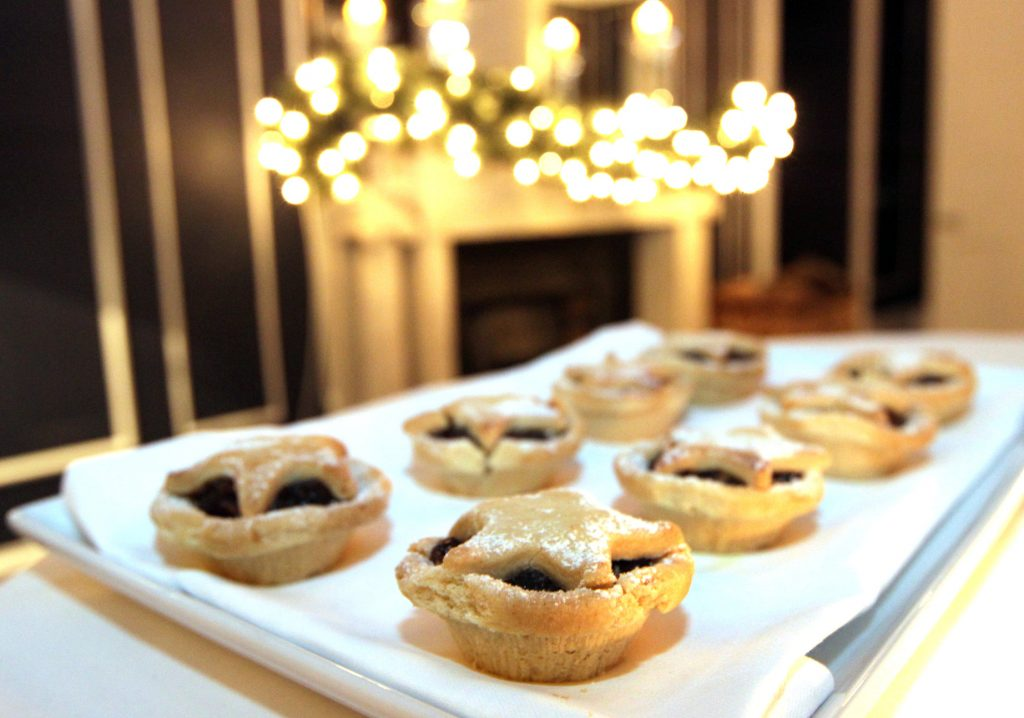 No. 25 Fitzwilliam Place | Mince Pies | Christmas Menus | Christmas Party | Corporate Christmas Party