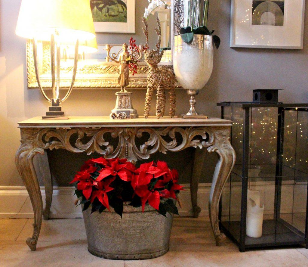 No. 25 Fitzwilliam Place | Christmas Poinsettia's | Christmas Party | Corporate Christmas Party
