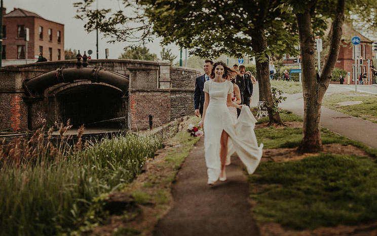 Getting Married in Dublin, Grand Canal, Dublin Wedding