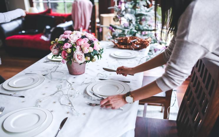 wedding day, wedding dinner
