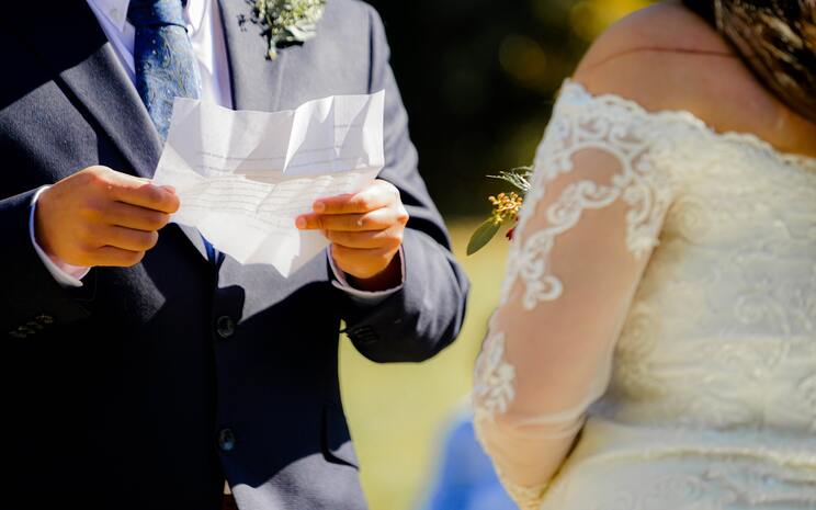 wedding readings, wedding vows