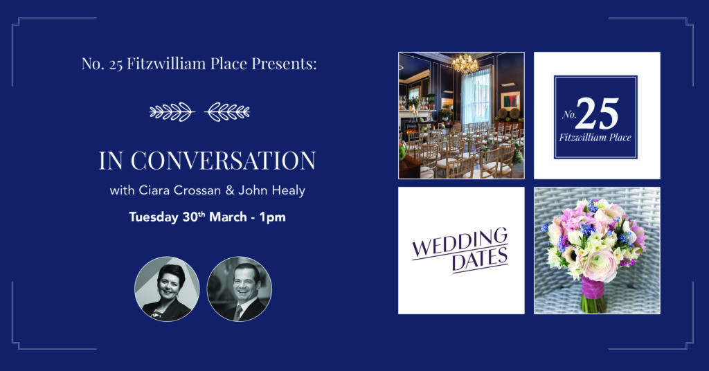 Conversation with Ciara Crossan, Wedding Dates