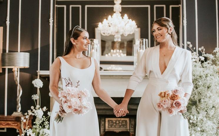 Wonderful Wedding Photoshoot at No. 25 Fitzwilliam Place