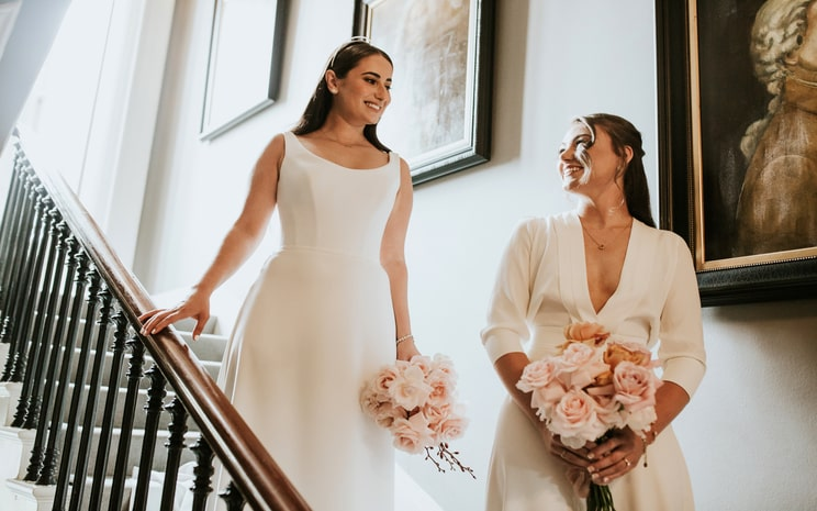 Same Sex wedding photoshoot, love is love, civil ceremony weddings, wedding photos, No. 25 Fitzwilliam Place
